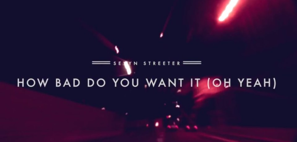 Sevyn Streeter — How Bad Do You Want It