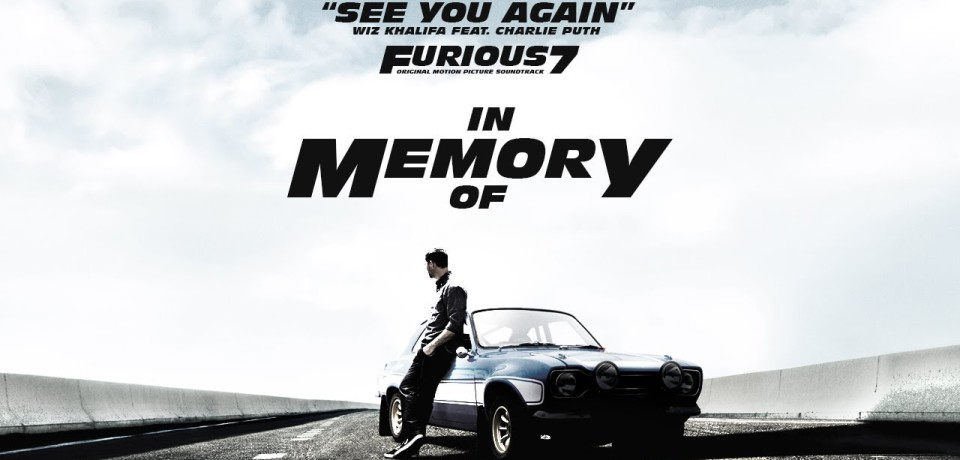 Wiz Khalifa — See You Again ft. Charlie Puth