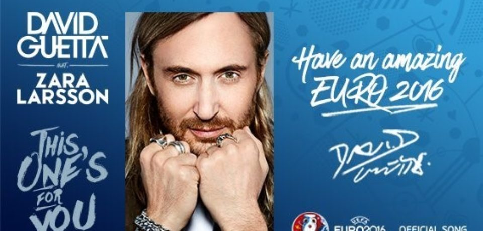 David Guetta ft. Zara Larsson — This One's For You